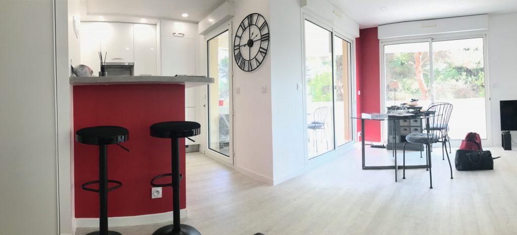 Aménagement d'un appartement à Montpellier